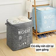 Combo 2 Túi đựng quần áo chăn màn cỡ lớn ( giao mầu ngẫu nhiên ) thumbnail