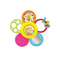 Xúc Xắc Gặm Nướu mềm Hình Bông Hoa Chính Hãng Winfun 0776 an toàn cho bé - BPA Free - tặng đồ chơi tắm 2 món thumbnail
