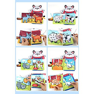 sách vải - sách vải cho bé kèm rối tay sản xuất tại Việt Nam thumbnail