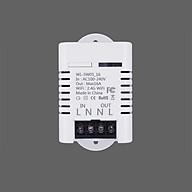 Công tắc điều kiển từ xa wifi SW01-16A (Tặng kèm 01 nút kẹp giữ dây điện) thumbnail