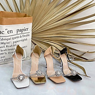 Giày sandal nữ đinh đá sang trọng (9F) thumbnail