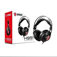 Tai nghe MSI gaming H991 - Hàng chính hãng thumbnail
