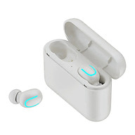 Tai Nghe Bluetooth 5.0 Không Dây True wireless Q32 Chống Nước IPX5 Cao Cấp - Hàng Chính Hãng thumbnail