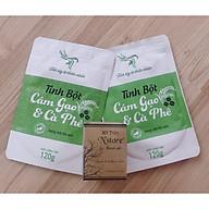 Combo Tẩy Tế Bào Chết - Tắm Trắng, Giảm Thâm Nám, Giảm Viêm Nang lông, Mụn Lưng Mỡ Trăn N store và Tinh Bột Cám Gạo & Cafe thumbnail