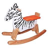 Ngựa gỗ vằn bập bênh thumbnail