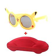 [KÈM VIDEO] Mắt kính trẻ em pikachu cao cấp chống UV chống gãy tặng kèm hộp đựng kính hình ô tô dành cho BÉ TRAI BÉ GÁI thumbnail