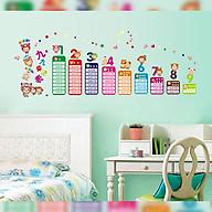 Decal dán tường trang trí phòng ngủ, lớp mầm non- Bảng cửu chương- mã sp DAY1932 thumbnail