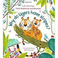 Sách Usborne Lift-the-Flap First Questions and Answers Why do tigers have stripes thumbnail