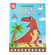Game tranh nối điểm DOT TO DOT 3 chủ đề Khủng Long Dinosaur - Tòa Nhà Great Buidling - Xe Cộ Thing That Go thumbnail