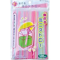 Set 120 ống hút 16cm chịu nhiệt 60 độ an toàn hàng Japan thumbnail
