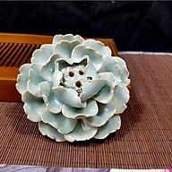Hoa gốm cắm nhang trầm hoặc để trầm nụ DDT10 (Hàng xuất Nhật) thumbnail