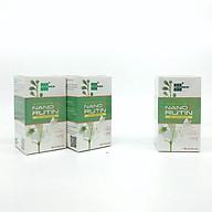 Combo 2 hộp Nano Rutin OIC hỗ trợ điều trị trĩ, suy giãn tĩnh mạch, cao huyết áp - tặng 1 Nano Rutin OIC (hộp 60 viên) thumbnail