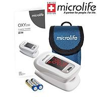Máy đo nồng độ OXY trong máu và nhịp tim Microlife SPO2 OXY200 - Chính Hãng Thụy Sĩ thumbnail