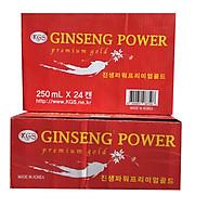 Combo 2 thùng nước tăng lực hồng sâm-Ginseng Power Premium Gold Hàn Quốc (24 lon x 250ml) thumbnail