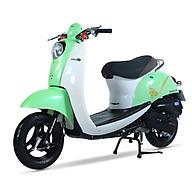 Xe ga 50cc Scoopy màu xanh lá cây nhạt thumbnail