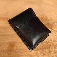 Bao da cho ZIPPO- đồ da thủ công - màu đen DT403 thumbnail