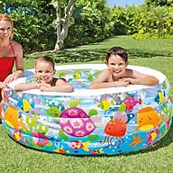 Bể bơi phao cho bé hình tròn 1m52 INTEX 58480 thumbnail