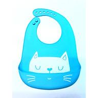 Yếm Ăn Dặm Silicon Mèo Con (Hình Shop Chụp) thumbnail