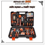 Bộ dụng cụ sửa chữa 102 chi tiết thumbnail