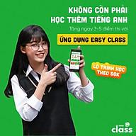 Ứng dụng Easy Class học tiếng Anh từ lớp 1 đến lớp 12 (Gói 1 năm) (hàng chính hãng) thumbnail