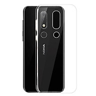 Ốp lưng silicon dẻo trong suốt dành cho Nokia 3.1 Plus siêu mỏng 0.5 mm thumbnail