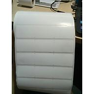 Set 10 cuộn giấy decal mã vạch thường khổ 3 tem 35 22mm - 50m thumbnail