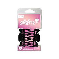 2 kẹp bướm nhỏ Gliders nhẹ, êm chân tóc, nhập khẩu Úc thumbnail