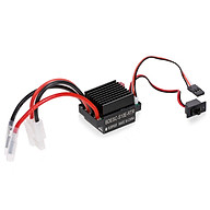 320A ESC Brushed Forward Reverse Electric Speed Controller with Brake Waterproof Support 2-3S Battery Replacement for thumbnail