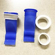 COMBO 2 bộ Bịt nắp cống silicon chống mùi thoát sàn, ngăn trào ngược nhà tắm,ngăn côn trùng xâm nhập bằng Silicone thumbnail
