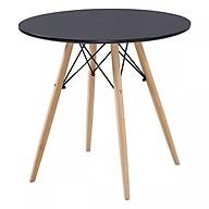 Bàn Eames Tròn Chân Gỗ (60cm) BE60 - WH thumbnail