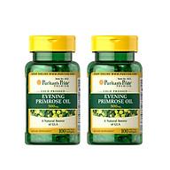 Combo 2 lọ Thực phẩm chức năng bảo vệ sức khỏe Dầu hoa anh thảo Evening Primrose Oil 500mg with GLA thumbnail