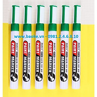 Hộp 6 cây bút sơn Baoke - MP560 màu xanh lá thumbnail