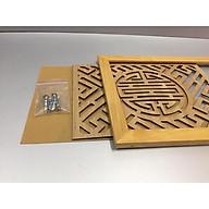 Tấm chống ám khói nhang 3 lớp, chữ Thọ hán vàng (tặng kèm bộ vít mở ) DA12060 thumbnail