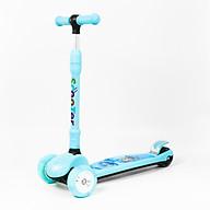 Xe Trượt Scooter XJ 666 mới 3 bánh thông minh dễ cân bằng cho bé trai bé gái từ 3 tuổi đến 8 tuổi có thể thay đổi chiều cao 3 nấc cùng với sự phát triển của bé thumbnail