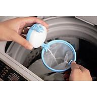 Bộ 2 Túi lọc chất thải, khử trùng máy giặt không gây ha i cho quâ n a o va dê da ng sư du ng 9.9 x 14 cm, giao màu ngẫu nhiên thumbnail