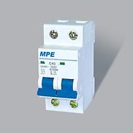Cầu Dao Tự Động MCB Aptomat 2 Cực MPE 63A 4.5kA (MP4-C263) thumbnail