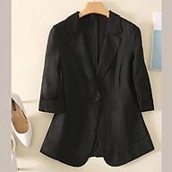 Áo blazer túi ốp Black thumbnail