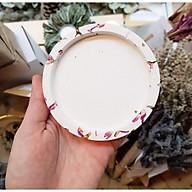 Đế đỡ nến hoa hồng khô, sản phẩm sáng tạo và thân thiện với môi trường. thumbnail