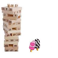 Bộ đồ chơi rút gỗ loại lớn+Tặng kèm quà cho bé- Đồ chơi gỗ thông minh-Bộ rút gỗ thanh lớn thumbnail
