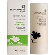 Kem dưỡng da ban đêm Living Nature Balancing Night Gel thumbnail