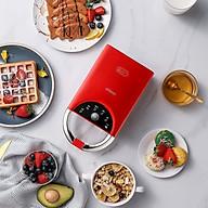 Máy kẹp nướng bánh mỳ đa năng Model SH-116S Full 5 khay tiện dụng. TẶNG GIẮC Ổ CẮM 3 CHÂN THÀNH 2 CHÂN thumbnail