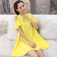 Đầm bầu thời trang khoét vai DN1908204 thumbnail