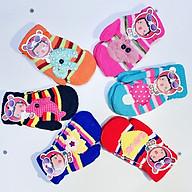 Găng tay len 2 ngón dễ thương, màu sắc đa dạng, dành cho bé từ 1-4 tuổi, bao tay len , găng tay 2 ngón thumbnail
