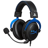 Kingston HyperX Cloud Gaming Head-mounted Gaming Headset with in-Line Audio Control Detachable Microphone for PS4 PS5 thumbnail