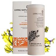 Dầu Gội Làm Mềm Tóc, Giảm Rụng Living Nature Balancing Shampoo 200ml thumbnail