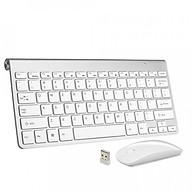 Bộ Bàn Phím Chuột Không Dây Wireless USB 2.4GHz Ultra Thin Mini AZONE thumbnail