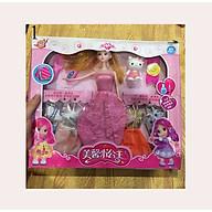Bộ đồ chơi búp bê babie xinh đẹp và đầy đủ phụ kiện thời trang thumbnail