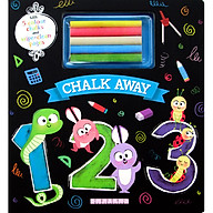 Chalk Away 123 (With 5 Colour Chalks and Wipe-Clean Pages) thumbnail