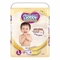 Tã Dán Siêu Mềm Bobby Extra Soft Dry Gói Siêu Lớn L58 Miếng (9-13kg) thumbnail