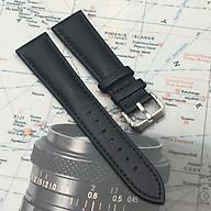 Dây đồng hồ da bò trơn, mềm Italy nhiều size tặng chốt và dụng cụ tháo lắp thumbnail